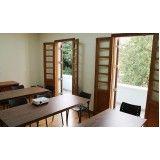 aluguel de sala de aula Santa Cecília