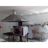 espaço com cozinha profissional para cursos gastronômicos na Liberdade