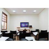 quanto custa aluguel de sala para treinamento de empresas Jardim São Luiz